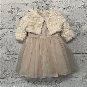 Pippa & Julie Baby Girl's Formal Dress/Sweater